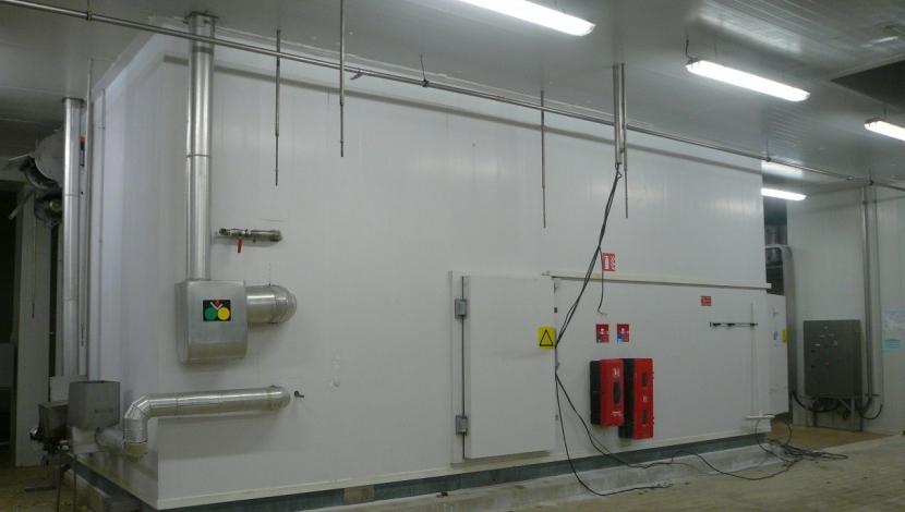 """Complete 600mm lijn """"CFS – GEA"""" voor Tempura producten"""