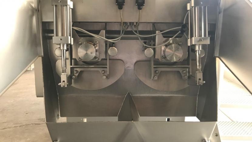 dubbele peddelmenger Type AMP-1000HC-D