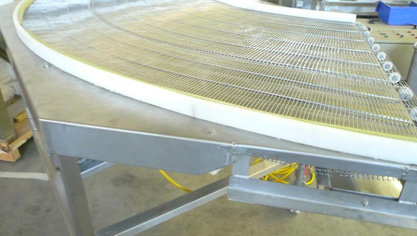 "Turn conveyor 90° ""Koppens""  Type RT 90 – 8 / 900L"