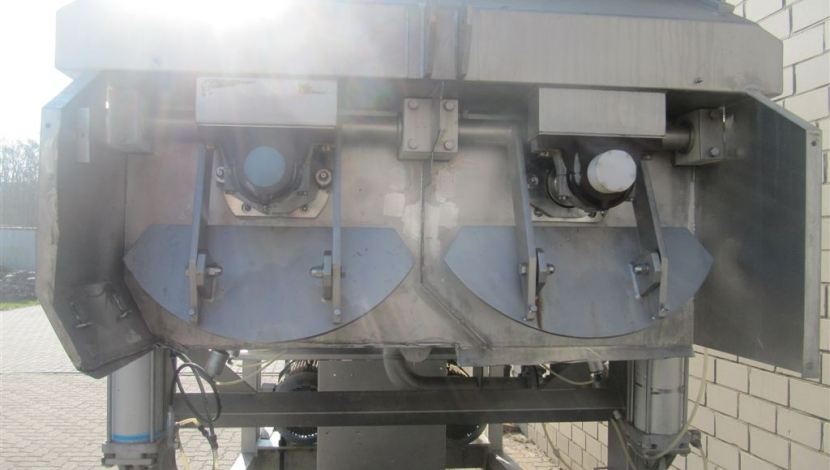 """Boldt"" twin shaft ribbon mixer Type BM6000S52R"