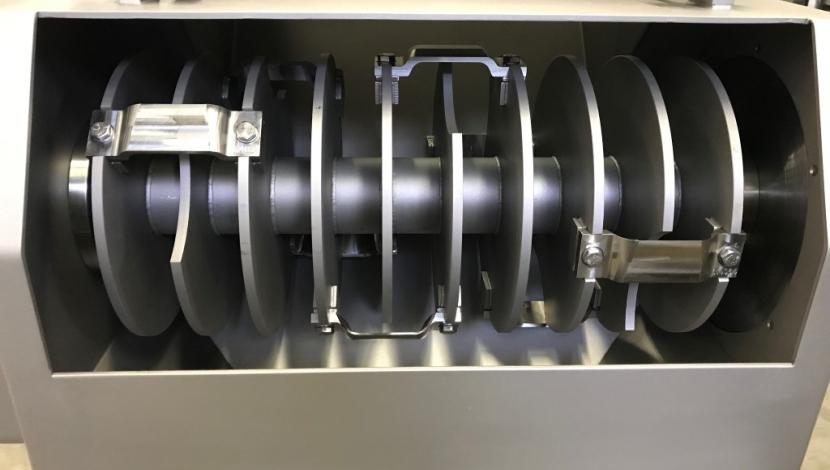 """Flaker (shredder) voor blokken bevroren product """"Barsso"""" Type Barflaker 200"""