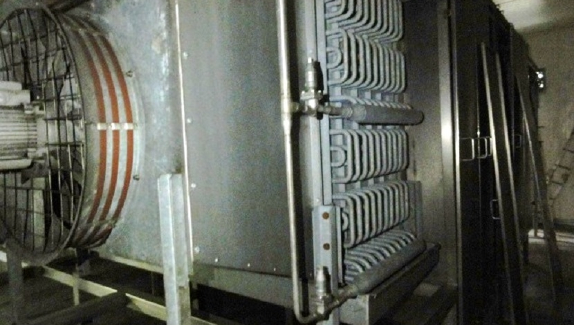 """GEA-Koppens"" spiral freezer Type SVR600-15,50-29"