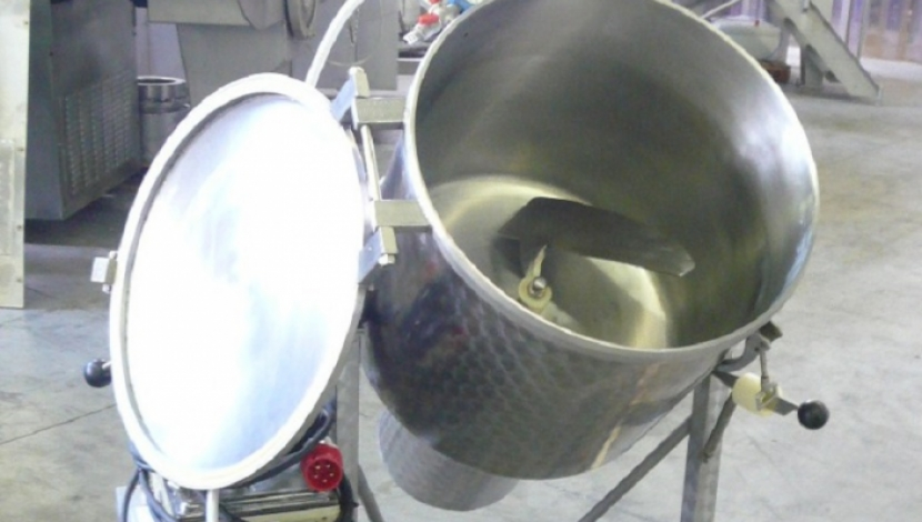 """Glass"" vacuum mixer / tumbler 150 L. Type VSM 150"