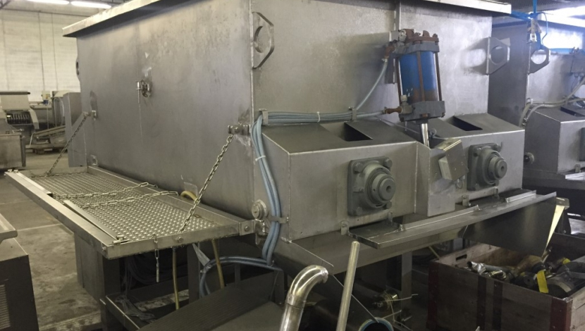 """Karl Schnell"" twin shaft paddle mixer 3.000L"