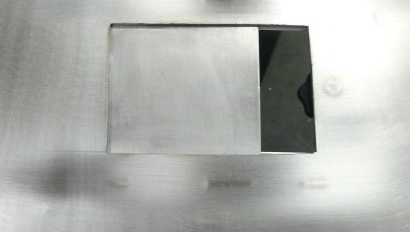 Buffertafel voor paneerlijn