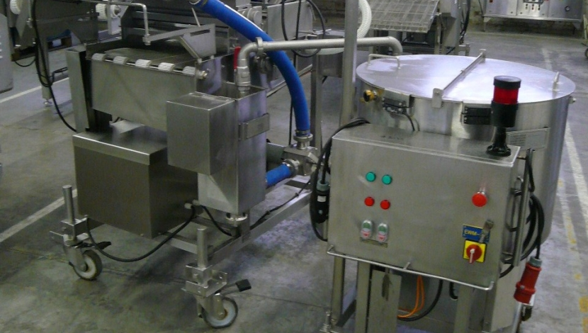 """GEA-CFS"" battering - breading machine + batter mixer"