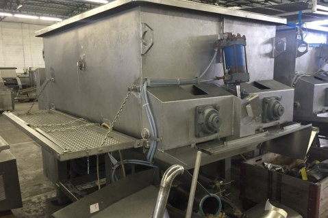 """""""Karl Schnell"""" twin shaft paddle mixer 3.000L"""